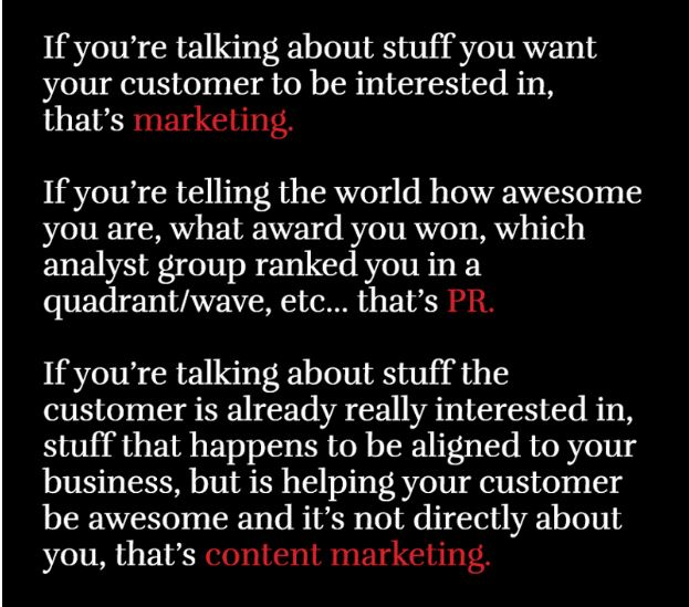 Are You Content Marketing Or Marketing AndreaTEdwards